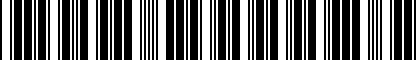 Barcode for 893012223