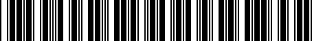 Barcode for 8D0012244A